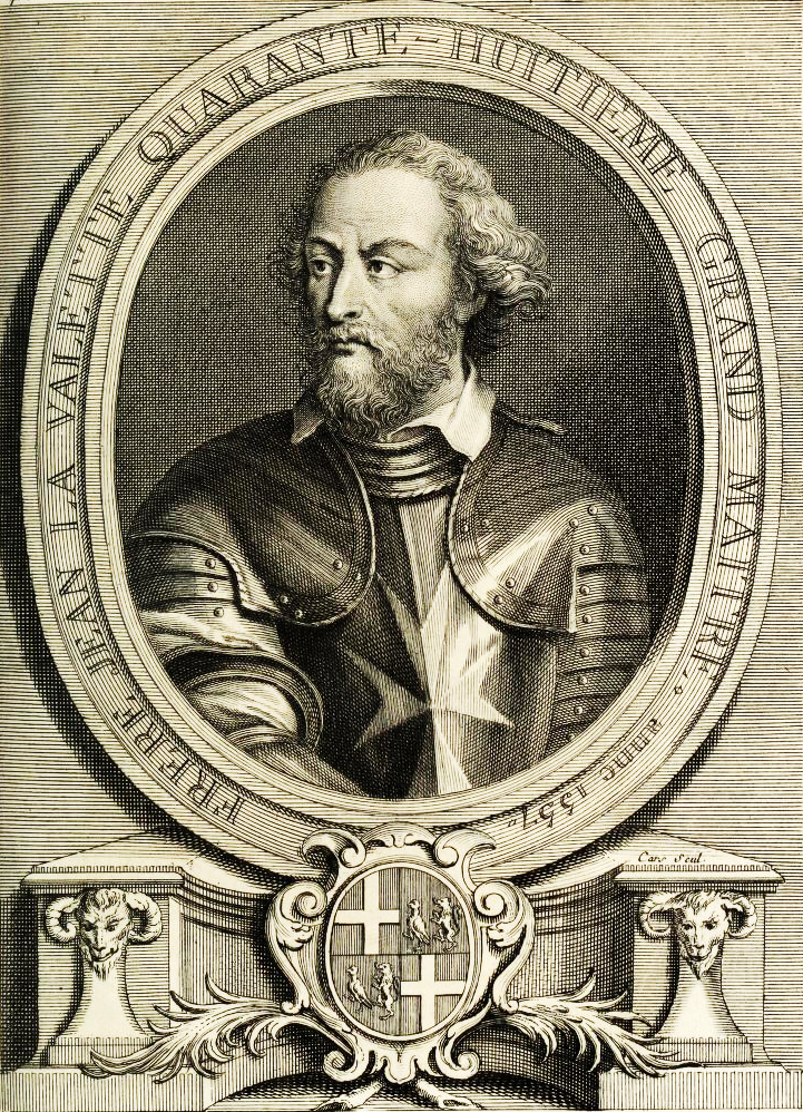 Jean de Valette Grandmaster of the Knights Hospitaller during the Great Siege of Malta in 1565
